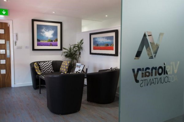 Christmas at Visionary Accountants in St Albans