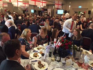 St Albans District Chamber of Commerce St George's Day lunch