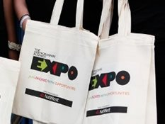 Visionary Accountants exhibit at Herts Expo