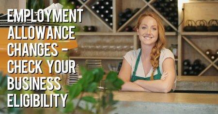 Employment allowance changes